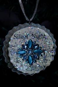silent night ornament